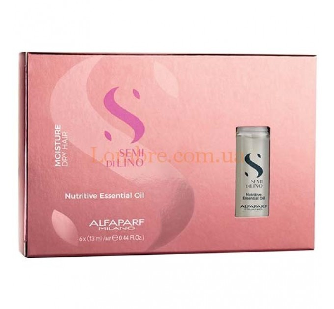 Alfaparf Semi Di Lino Moisture Nutritive Essential Oil - Увлажняющее масло для волос