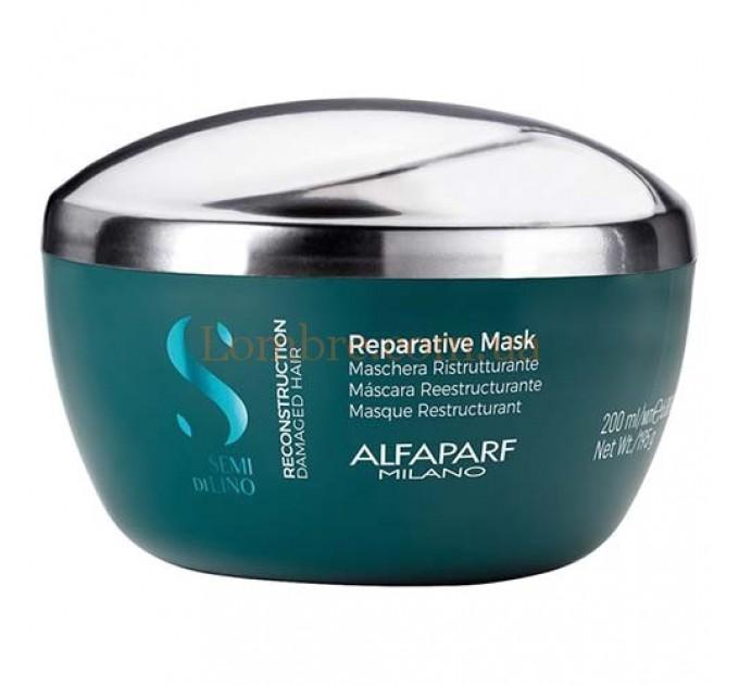 Alfaparf Semi Di Lino Reconstruction Reparative Mask - Маска для реконструкции волос