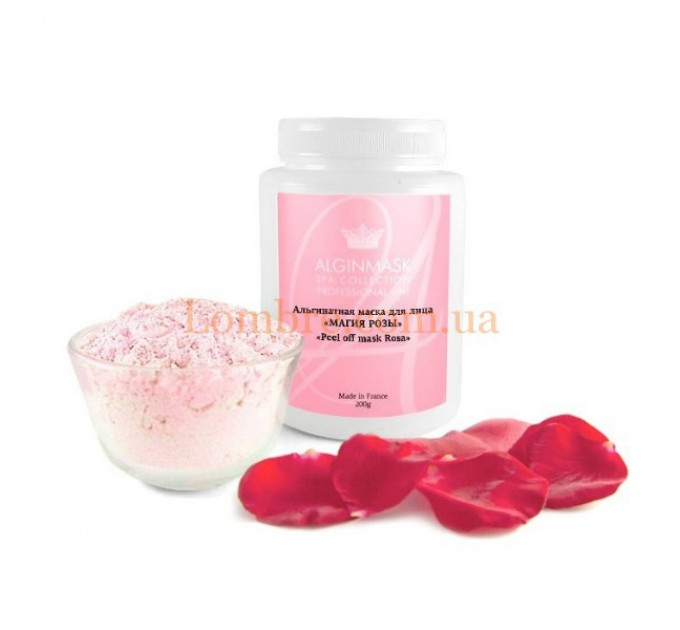 Alginmask Peel Off Mask Rosa - Альгинатная маска для лица «Магия розы»