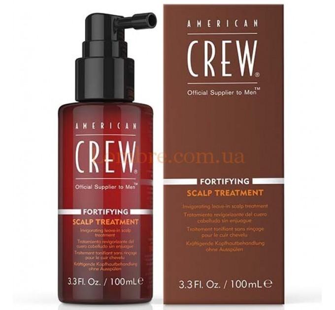American Crew Fortifying Scalp Revitalizer - Укрепляющий тоник для кожи головы и волос