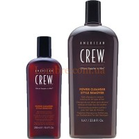 American Crew Power Cleanser Style Remover - Шампунь ежедневный для глубокого очищения