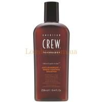 American Crew Anti Dandruff + Sebum Control Shampoo - Шампунь против перхоти для жирной кожи головы