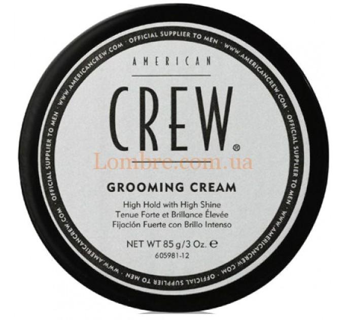 American Crew Grooming Cream - Крем для стайлинга сильной фиксации с блеском