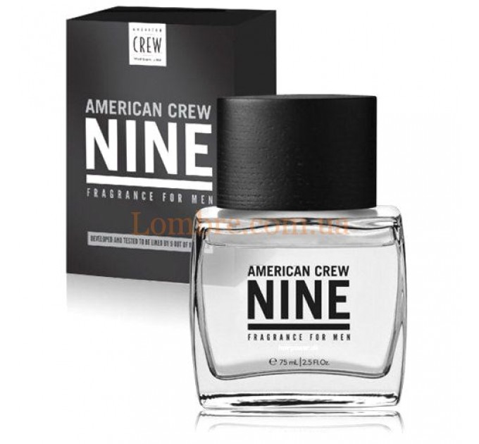 American Crew Nine Fragrance For Men - Туалетная вода Nine