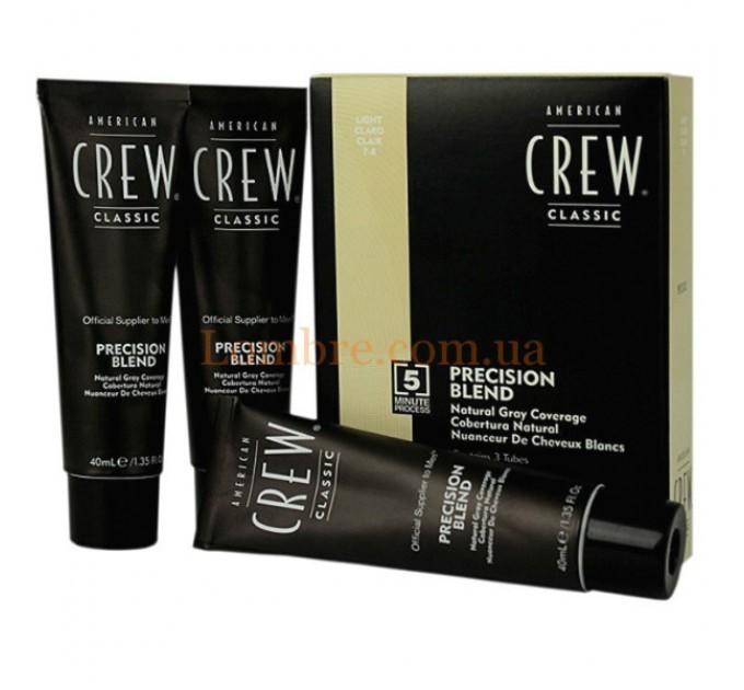 American Crew Precision Blend - Система маскировки седины