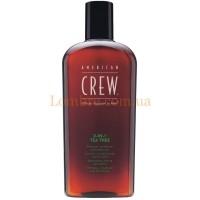 American Crew Tea Tree 3-in-1 Shampoo + Conditioner + Body Wash - Средство 3-в-1 по уходу за волосами и телом