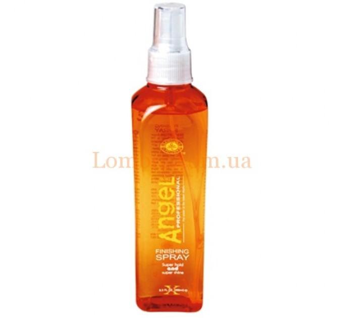 Angel Finishing Spray Super Hold & Shine - Лак для волос экстра сильной фиксации