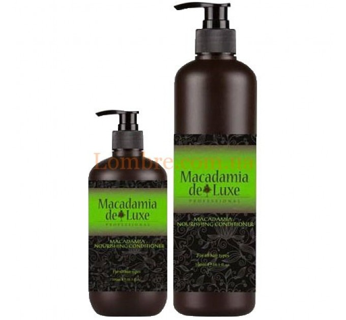 Macadamia De Luxe Nourishing Conditioner- Питательный кондиционер с маслом макадамии