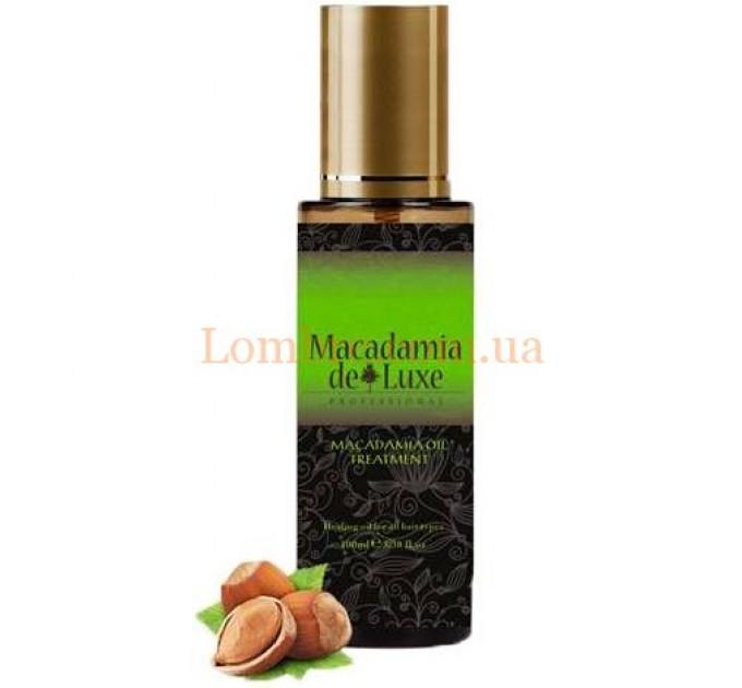 Macadamia De Luxe Oil Treatment- Масло макадамии для волос и тела