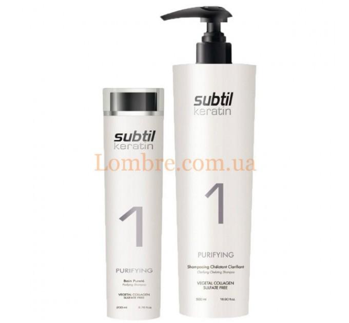 Ducastel Subtil Keratin Purifying Clarifying Chelating Shampoo №1 - Хелатирующий шампунь для очищения