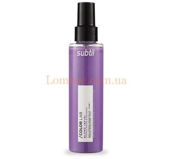 Ducastel Subtil ColorLab Blond Infini Soin Integral 12 En 1 - Уход 12 в 1 для осветленных волос