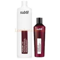 Шампунь для кучерявых и не послушных волос Ducastel Subtil ColorLab Maitrise Parfaite Shampoing Crème Disciplinant