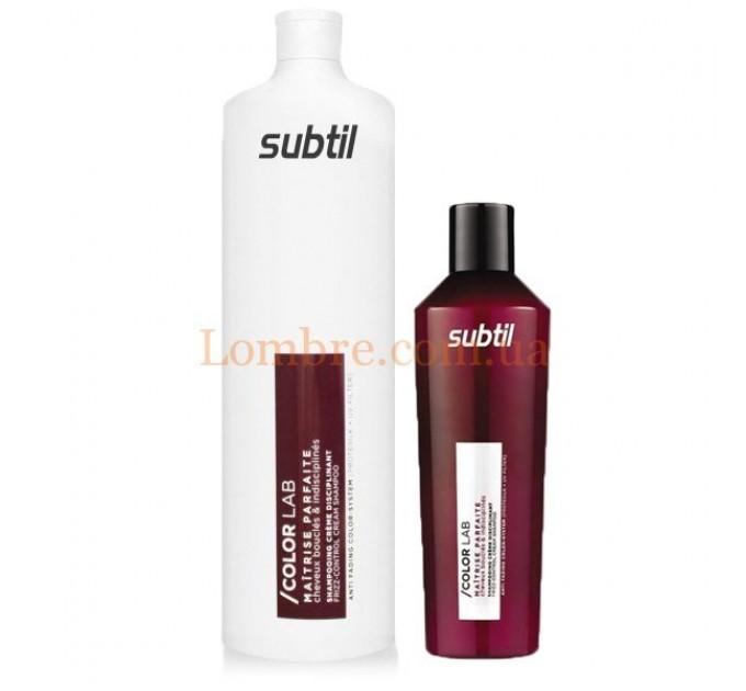 Ducastel Subtil ColorLab Maitrise Parfaite Shampoing Crème Disciplinant - Шампунь для кучерявых и не послушных волос
