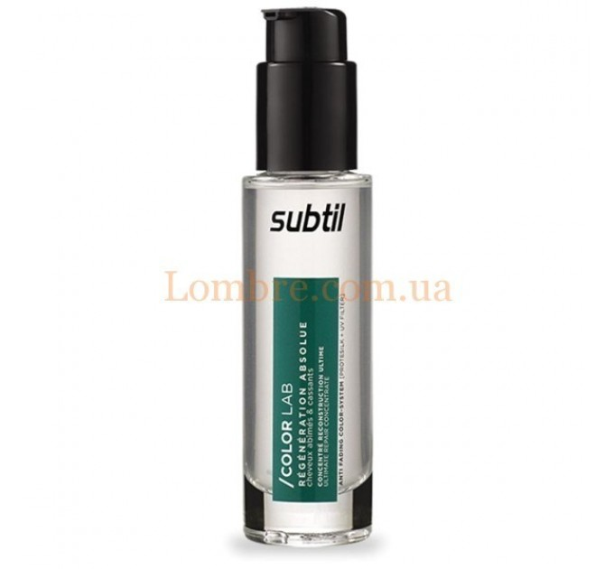 Ducastel Subtil ColorLab Regeneration Absolue Concentre Reconstruction Ultime - Ультравосстанавливающий концентрат для поврежденных и ломких волос