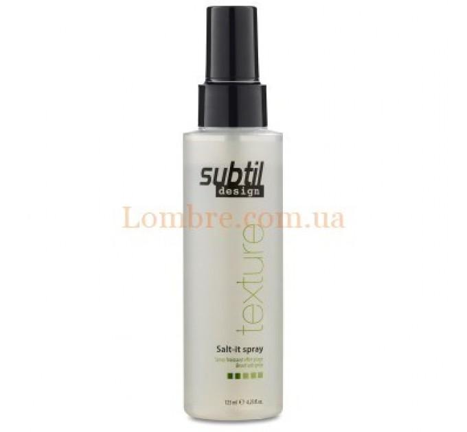 Ducastel Subtil Design Salt It Spray - Текстурирующий спрей с эффектом пляжной прически