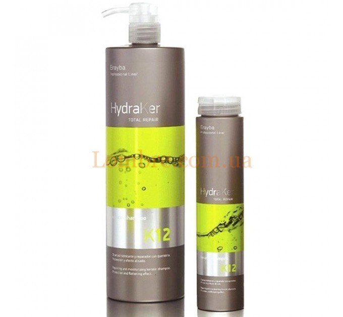Erayba K12 Keratin Shampoo - Шампунь кератин без сульфатов