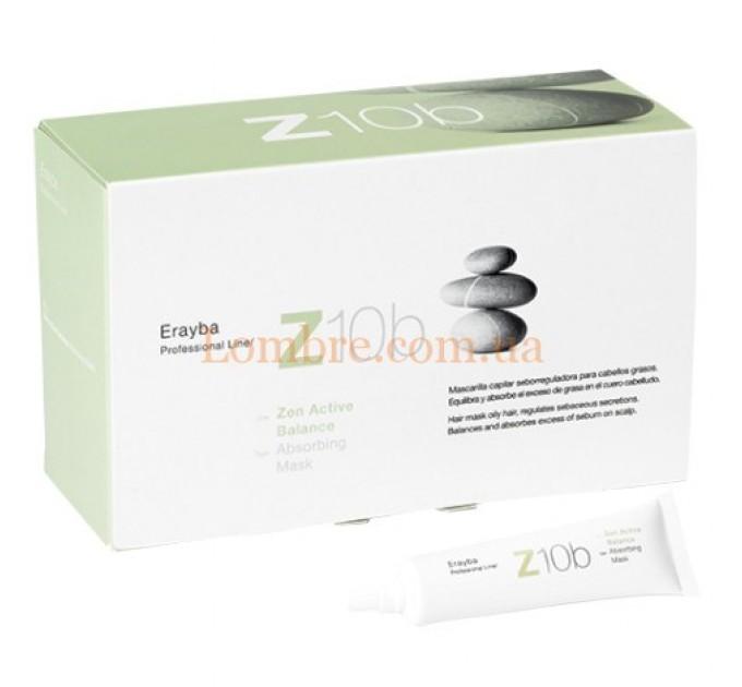 Erayba Z10b Absorving Mask - Маска-пилинг против жирных волос