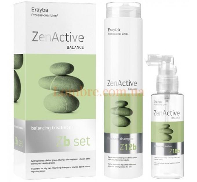 Erayba Z SET Balancing Treatment - Набор для жирной кожи головы