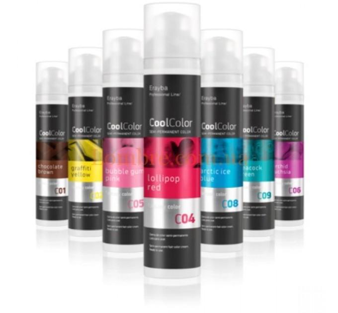 Erayba CoolColor Semi-Permanent Color Cream - Полуперманентная крем-краска