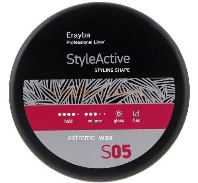 Erayba S05 Extreme Wax - Мягкий моделирующий воск сильной фиксации