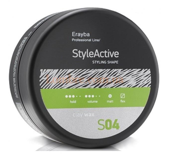 Erayba S04 Clay Wax - Воск с матовым эффектом средней фиксации