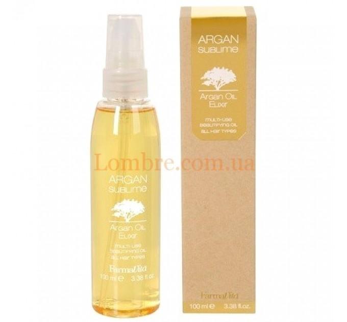 FarmaVita Argan Sublime Elixir - Эликсир с аргановым маслом для волос