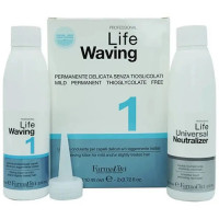 Биозавивка для натуральных и окрашенных волос FarmaVita Life Waving 1
