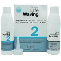 Биозавивка для «пережженных» и пористых волос FarmaVita Life Waving 2