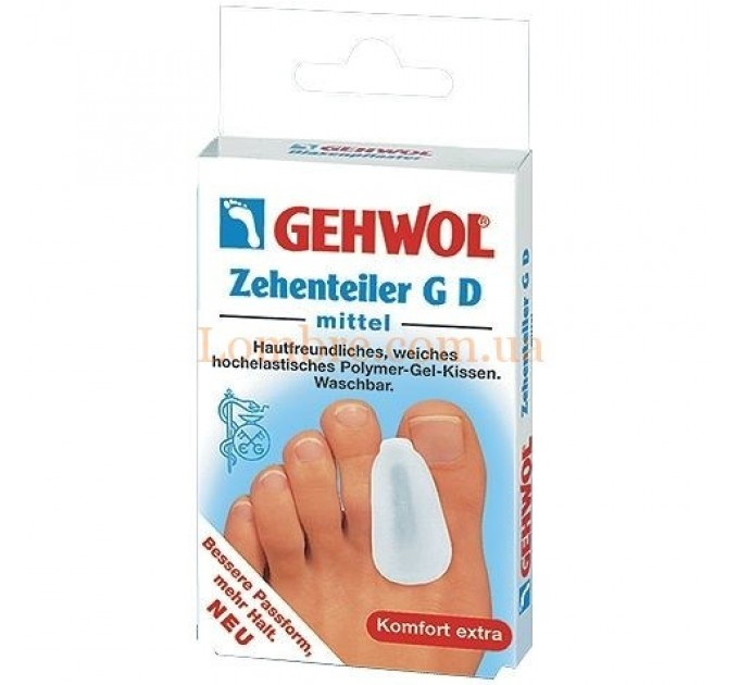 Gehwol Zehenteiler G D Mittel - Гель-корректор G D