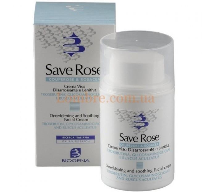 Histomer Biogena Save Rose - Дневной крем для кожи с куперозом