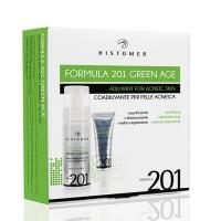 Комплексный уход для кожи с акне Histomer Formula 201 Green Age Complete Acne Kit