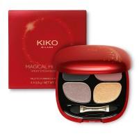 Палитра теней Kiko Milano Smoky Eyes  Quad  (01 Charming Smoky) 4*0.8 г
