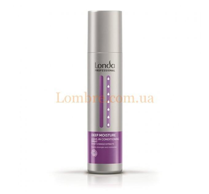 Londa Deep Moisture Leave-In Conditioning Spray - Несмываемый спрей-кондиционер для волос для увлажнения волос