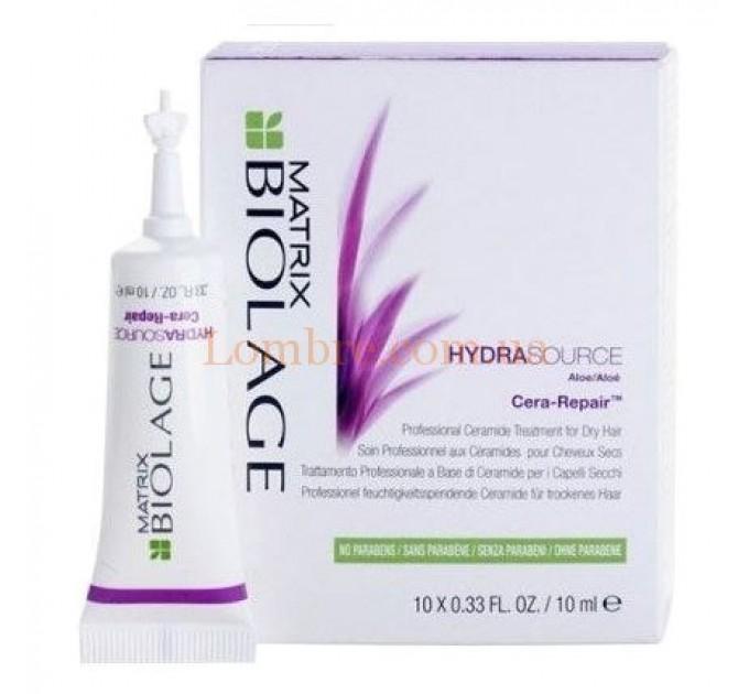 Matrix Biolage Hydrasource Cera-Repair - Увлажняющая сыворотка для волос