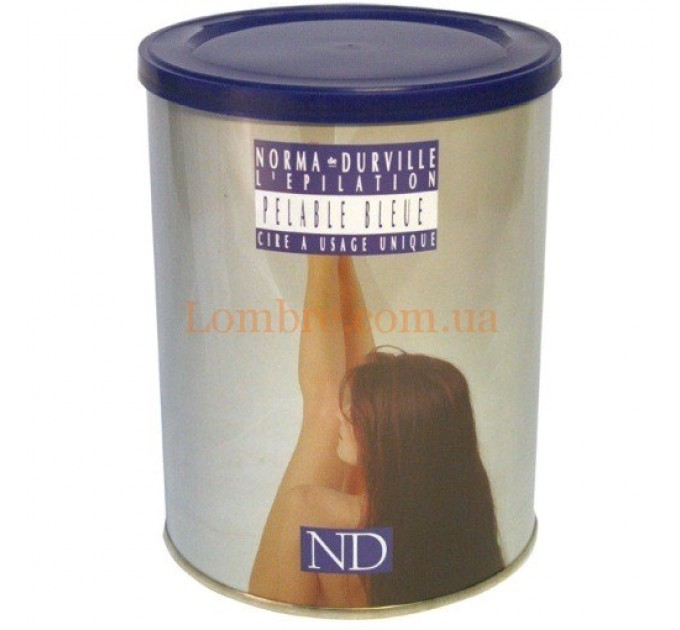 Norma de Durville Pelable Bleu - Воск синий очищающий горячий баночный