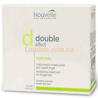 Nouvelle Double Effect Nutrimix - Оживляющее средство для волос в ампулах