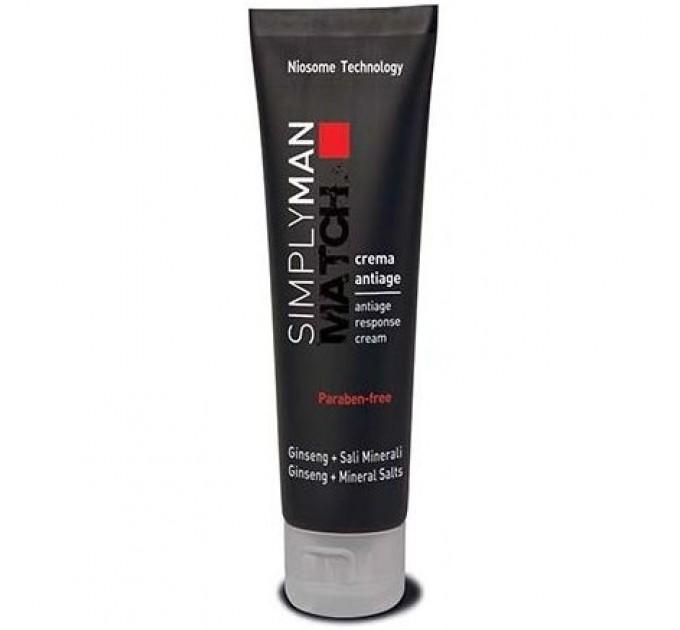 Nouvelle Simply Man Antiage Response Cream - Увлажняющий крем