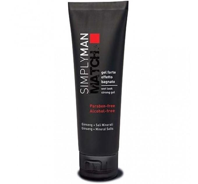 Nouvelle Simply Man Wet Look Strong Gel - Гель акриловый сильной фиксации для волос