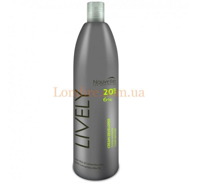 Nouvelle Lively Cream Peroxide - Окислительная эмульсия