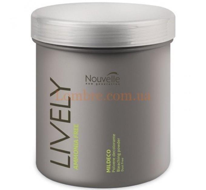Nouvelle Lively Mildeco Bleaching Powder Ammonia Free - Осветляющая пудра для волос без аммиака