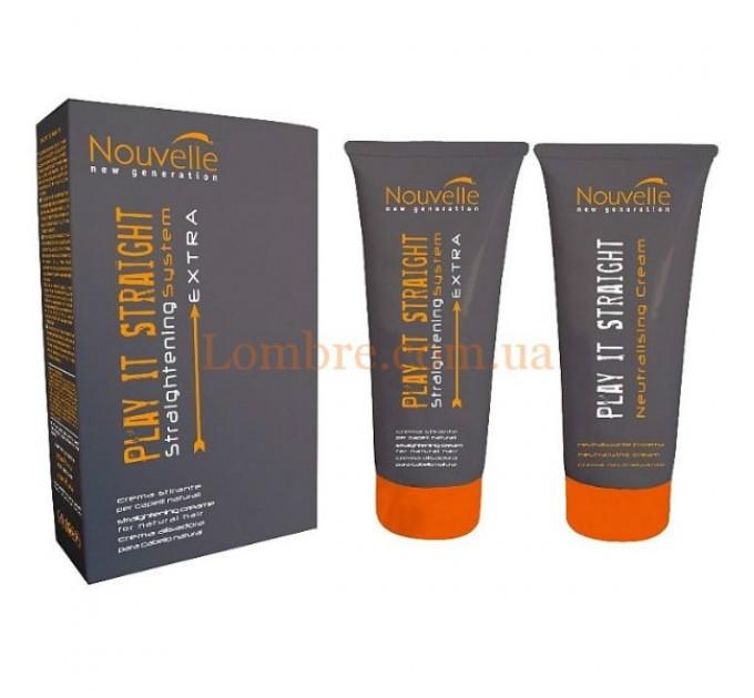 Nouvelle Play It Straight Extra - Крем для выпрямления поврежденных волос