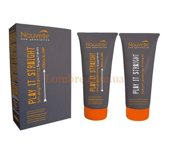 Nouvelle Play It Straight Regular - Крем для выпрямления нормальных волос