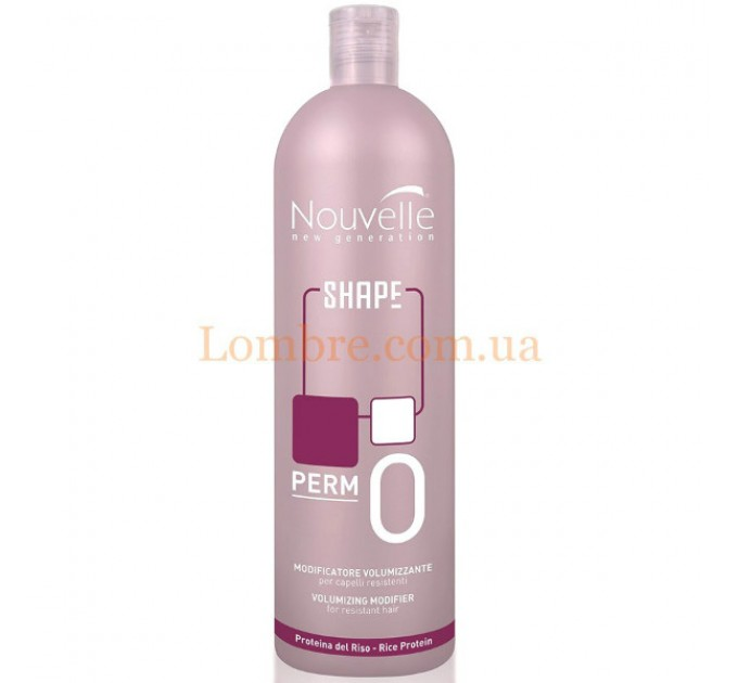Nouvelle Volumizing Modifier 0 - Лосьон для завивки жестких волос