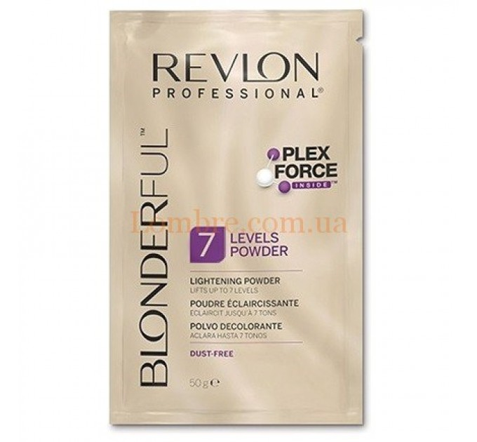 Revlon Blonderful 7-Levels Powder - Пудра для осветления волос безаммиачная до 7 тонов в саше
