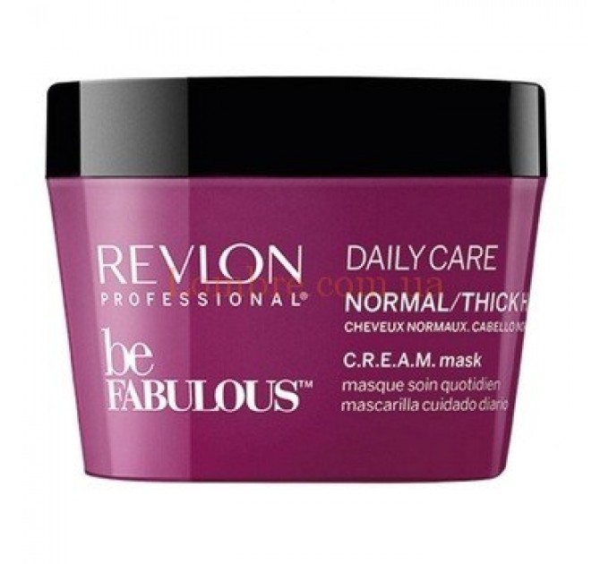 Revlon Be Fabulous Normal/Thick Hair Mask - Маска для нормальных и густых волос