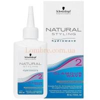 Schwarzkopf Glamour Wave Lotion 2 - Лосьон для завивки №2 окрашенных, мелированных и пористых волос
