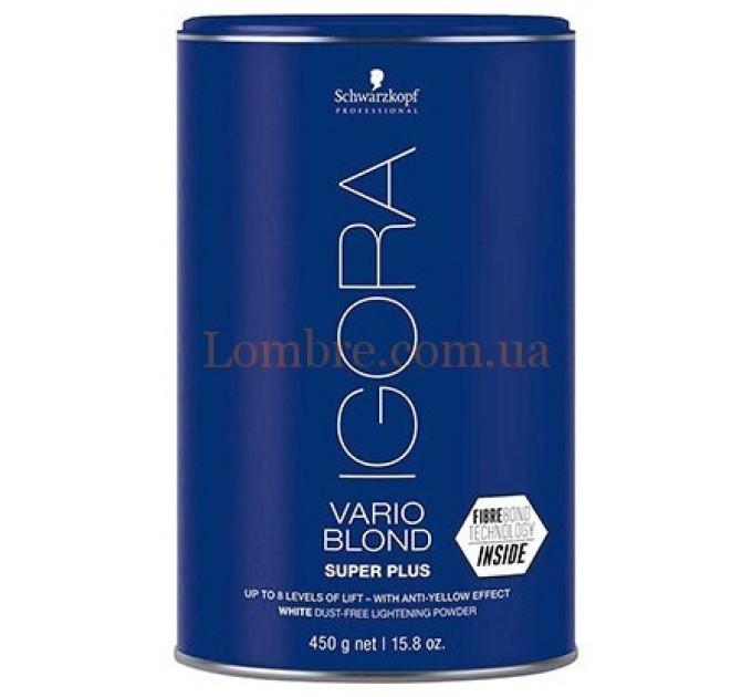 Schwarzkopf Igora Vario Blond Super Plus - Обесцвечивающий порошок до 8 уровней