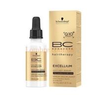 Schwarzkopf BC Excellium Q10+Omega3 Anti-Dry Serum - Сыворотка для волос и кожи головы для стимулирования выработки кератина