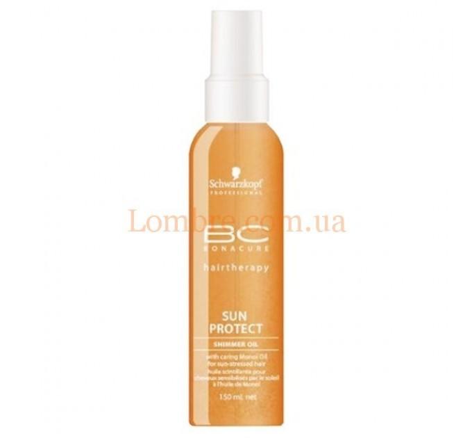 Schwarzkopf BC Sun Protect Shimmer Oil - Солнцезащитное масло с блеском для волос