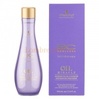 Schwarzkopf BC OM Barbary Fig Oil & Keratin Restorative Treatment - Восстанавливающее финишное масло